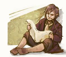 Bilbo Baggins scetch by chAsMou