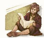 Bilbo Baggins scetch