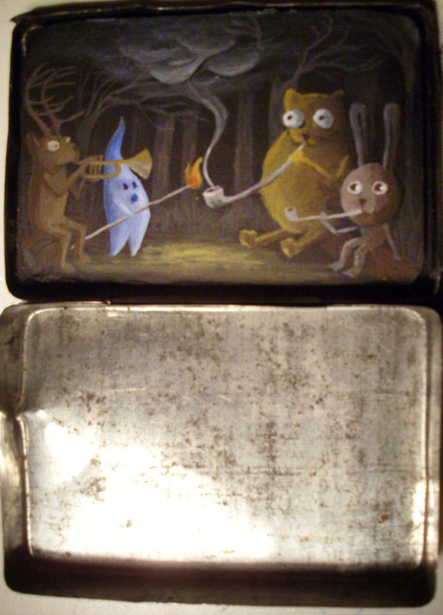 cigarette case by OlliTolli