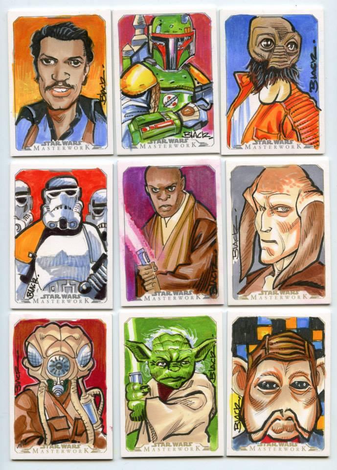 Star Wars 4 by danablackarts