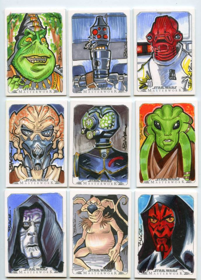 Star Wars 5 by danablackarts