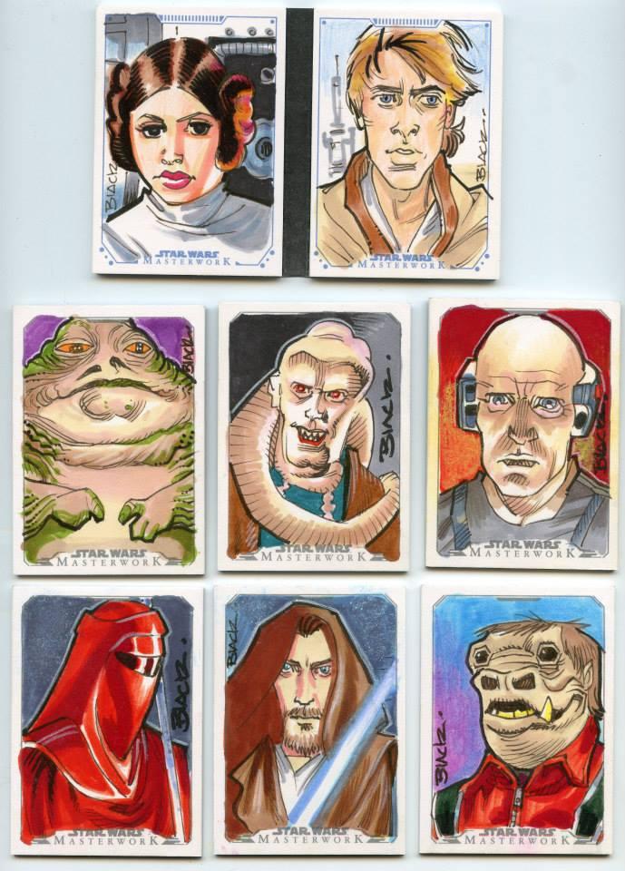 Star Wars 6 by danablackarts