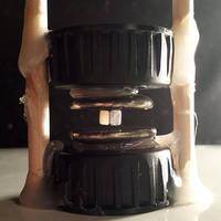 Woodstick+bottlecap+bismuth+magnets=Levitation:) by simre