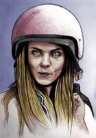 Cara Delevigne helmet by simre