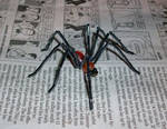 bead and wire long legged spider by TinyAna