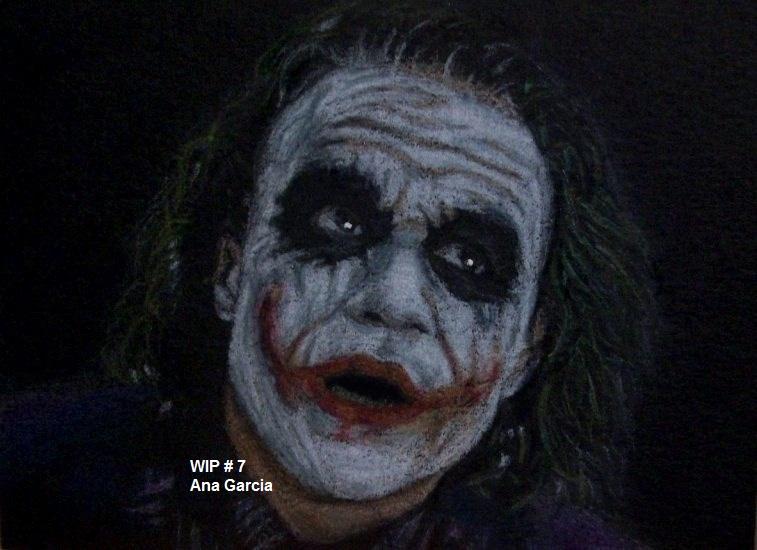 Work in progress: Joker by TinyAna