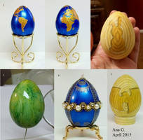Easter Eggs by TinyAna