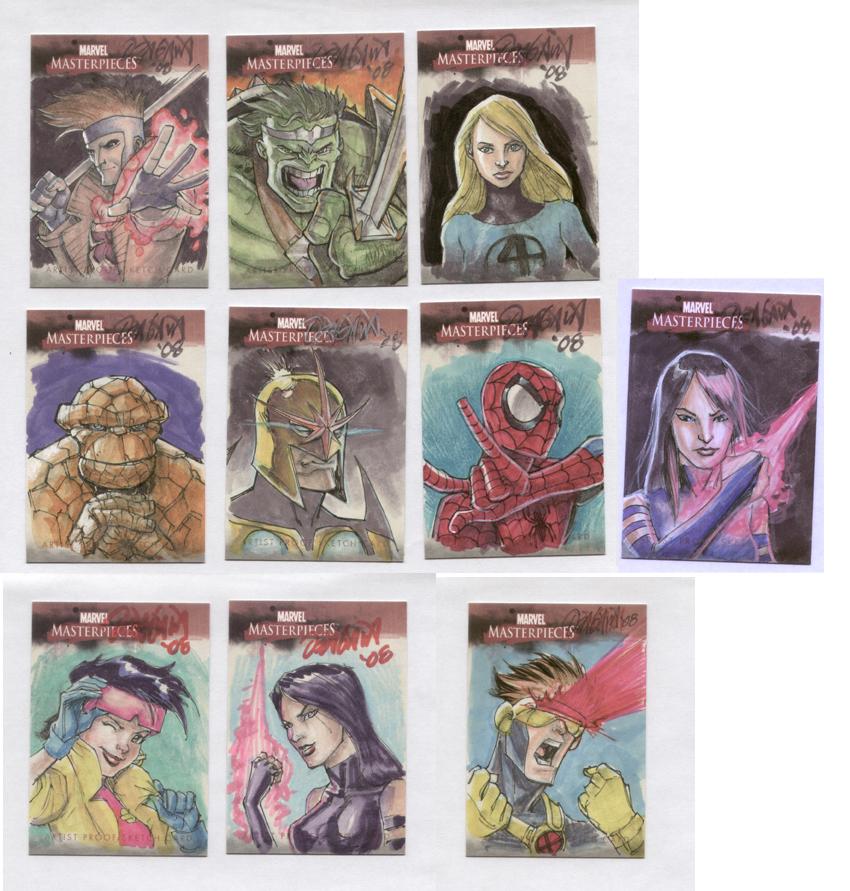 MM ARTIST PROOF cards by RyanOdagawa