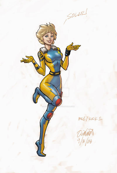 BIONIC SIX Rock 1 Meg by RyanOdagawa