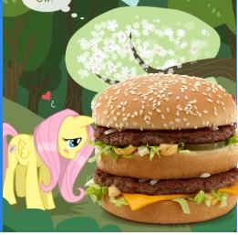 Fluttershy x Big Mac by Johnnio