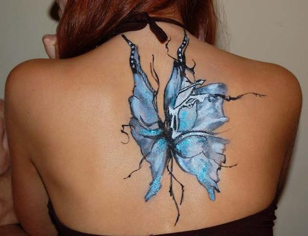 Butterfly bodypainting by martucia