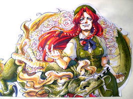 Meiling the Dragon by ScarletDesires