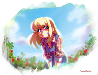 harvest moon Claire by ScarletDesires