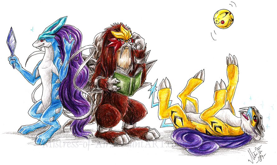 quelques dessins de pokemon légendaires