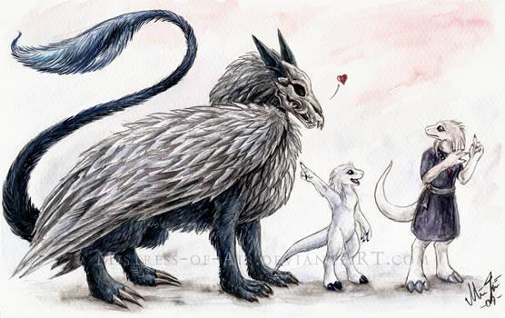 'It followed me home.'