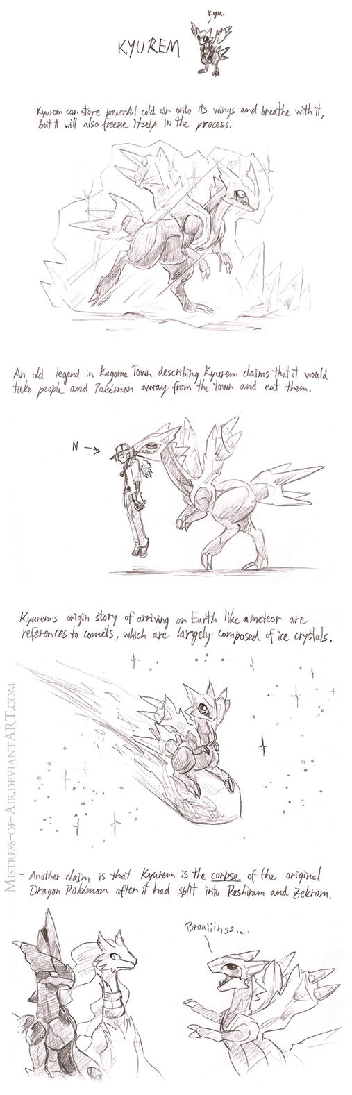 Kyurem, absense Pokemon. by Sysirauta