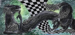 ACEO Checkered