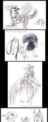 Fast pace doodles by Sysirauta