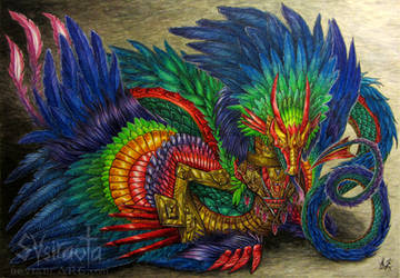 Quetzalcoatl by Sysirauta