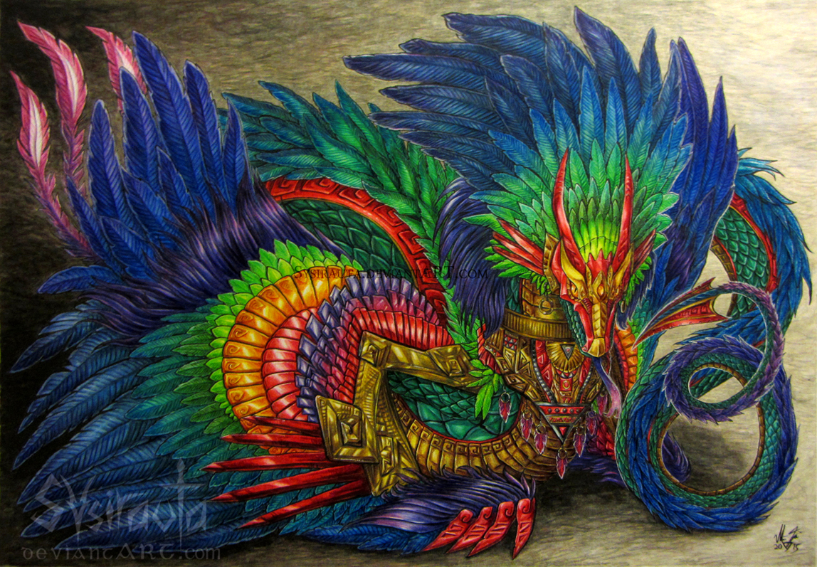 Quetzalcoatl by Sysirauta on DeviantArt
