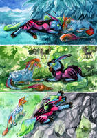 Journey of Colors by Sysirauta