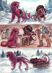 Snow Picnic by Sysirauta