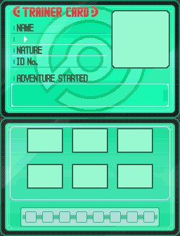 Pokemon Trainer Card BW By Pzykotyk On DeviantArt - Pokemon trainer card template