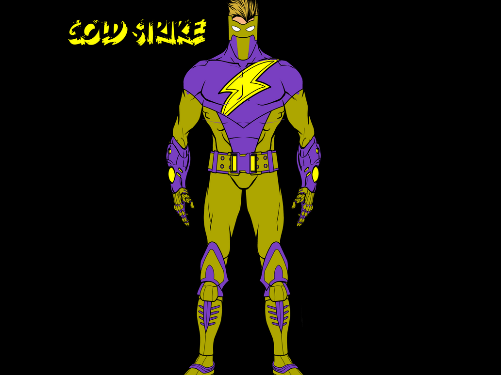 Gold Strike New suit redone ! by Slashh-20000