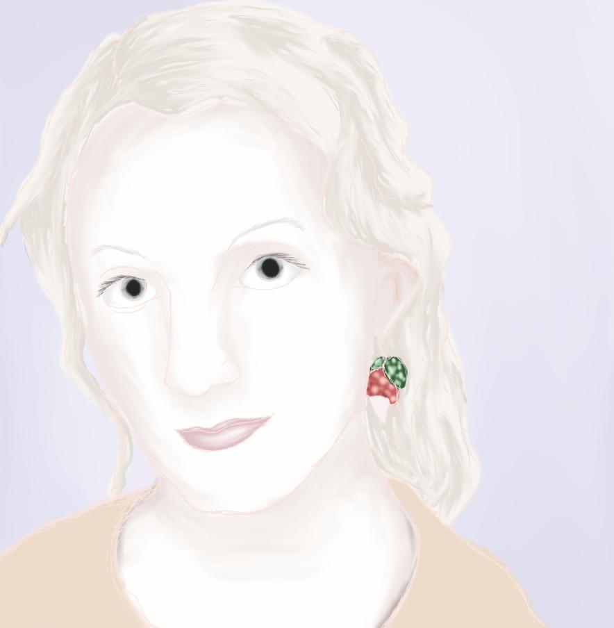 Miss Lovegood .:SPEEDPAINT:. by MysticRavenclaw