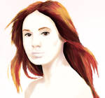 The Aboslutely Gorgeous Karen Gillan by MysticRavenclaw