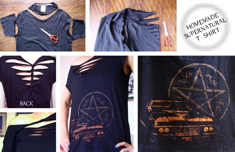 Supernatural T-shirt by Mikyechelon