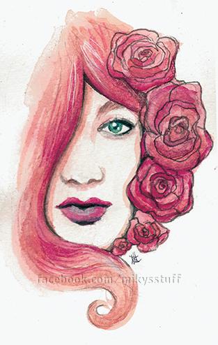 Rose by Mikyechelon