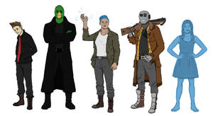 Sci-Fi Character Designs