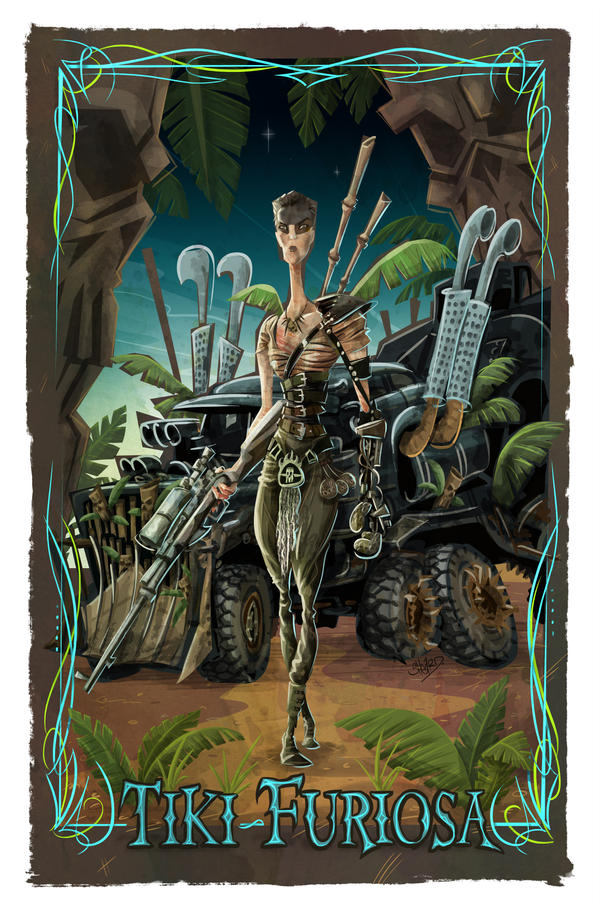 Tiki-Furiosa-by-Mar-Sheard by MarkSheard
