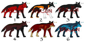 Adoptables Pack1 -OPEN- 2 left