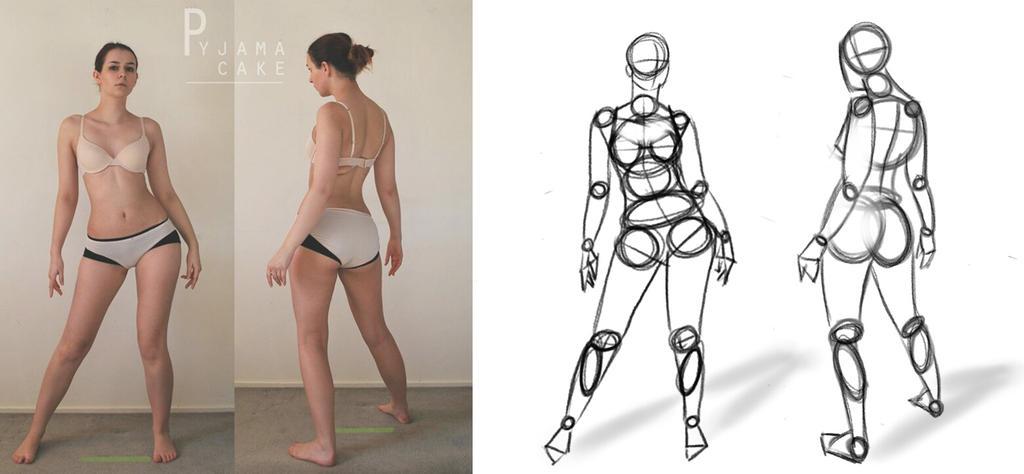 Canon de cuerpo femenino by yietro on DeviantArt