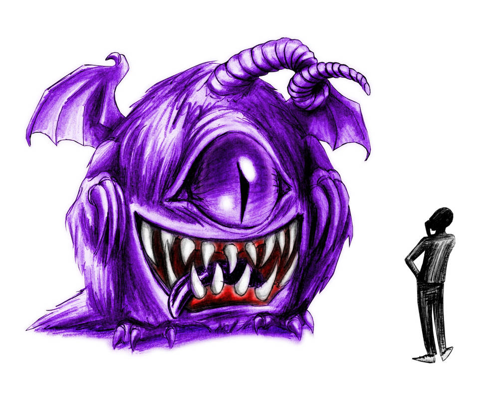 It looks like a Purple People Eater to me by Batri