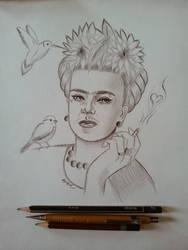 Study - Frida Kahlo
