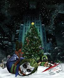 Gotham Christmas by DaakSM