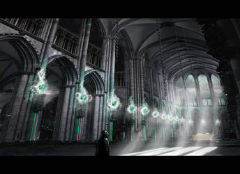 The Dark Cathedral by DaakSM