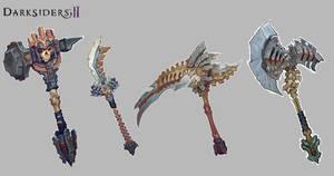 Darksiders II Weapons