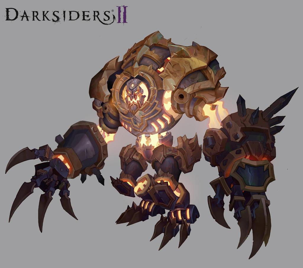 Darksiders Archon Darksiders II Monster by