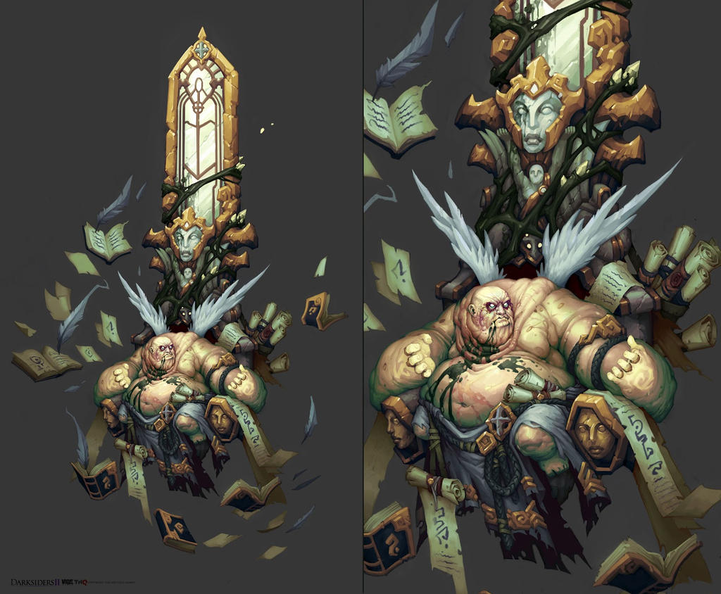 Darksiders Archon Darksiders II Boss by