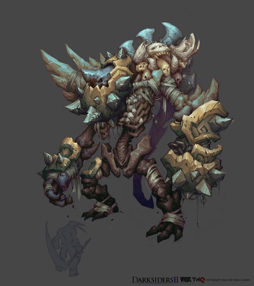 Darksiders Archon Darksiders II Monster 3 by