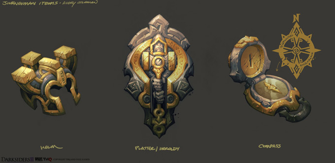 Darksiders II items by CorruptedDeath