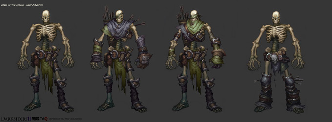 Darksiders II Monsters 2 by CorruptedDeath