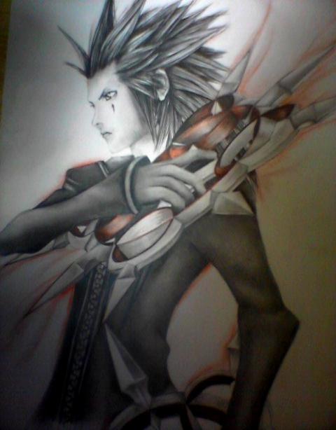 Axel (Kingdom Hearts) by HaouJudai