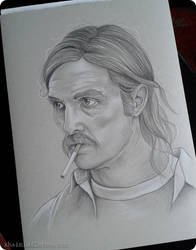 Rust Cohle by xhaimiddleton