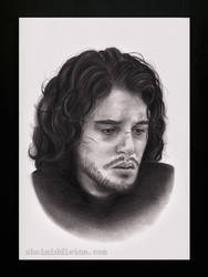 Jon Snow by xhaimiddleton