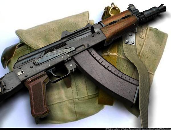 3Kalashnikov AKS-74-U by VladiT